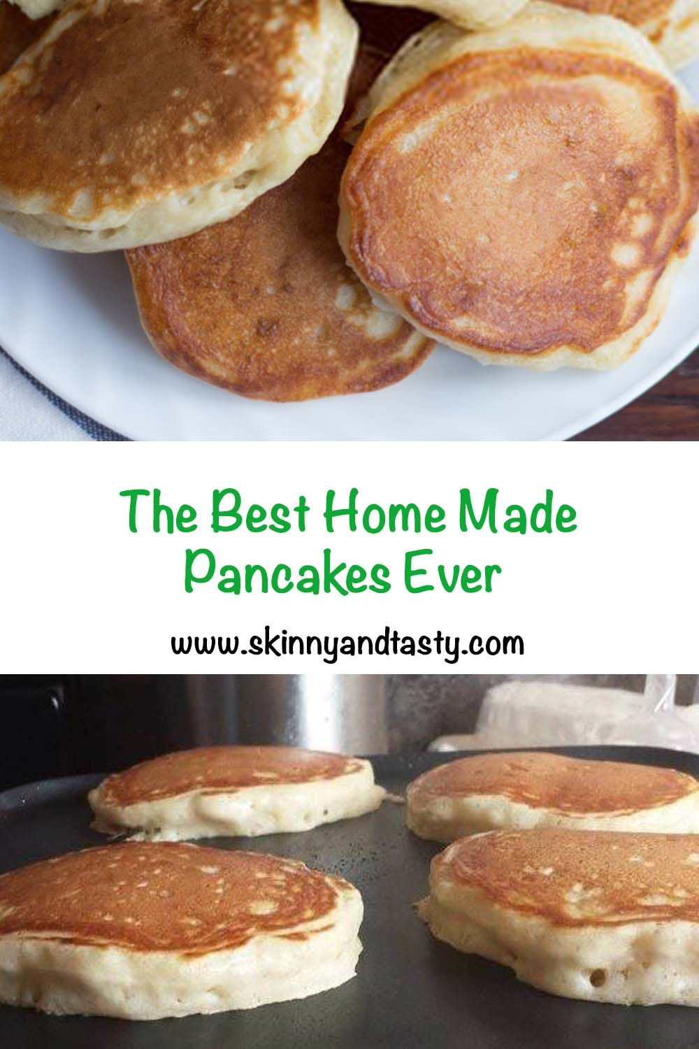 The Best Homemade Pancakes