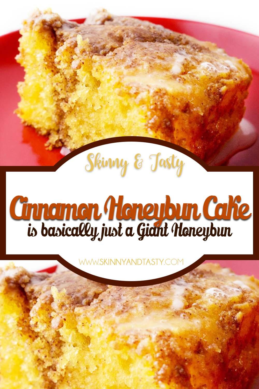 Cinnamon Honeybun Cake Recipe