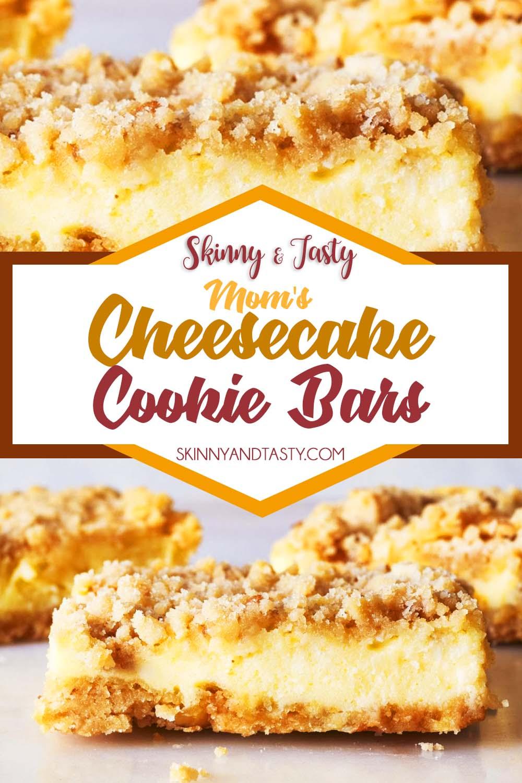 Mom's Cheesecake Cookie Bars
