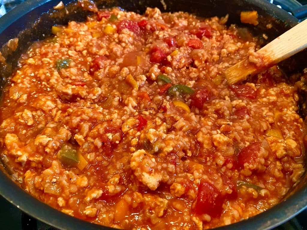 Stuffed Pepper Soup Is a Full Meal in a Bowl